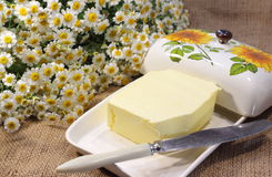 Homemade butter Royalty Free Stock Photography