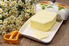 Homemade butter Stock Photos