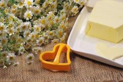 Homemade butter Stock Photo