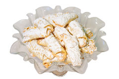 Homemade Butter Horn Cookies Royalty Free Stock Image
