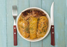 Homemade Cabbage Rolls Stock Image