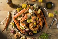 Free Homemade Cajun Seafood Boil Royalty Free Stock Photos - 131177478
