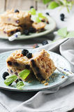 Homemade cake with blackberry Royalty Free Stock Photography