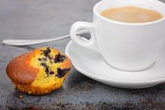 Homemade cake and a mug of coffee Royalty Free Stock Photo