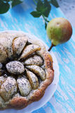 Homemade cake with poppy seeds Royalty Free Stock Image