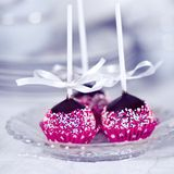 Homemade Cake Pops Royalty Free Stock Image
