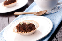 Homemade cakes. Traditional russian cakes with cacao Stock Photography