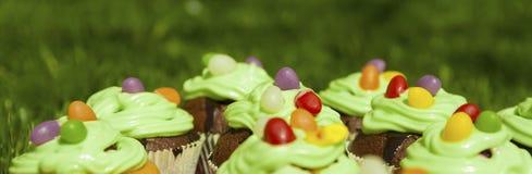 Homemade cakes background Royalty Free Stock Photos