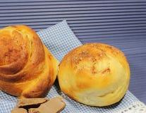 Homemade cakes of dough Stock Photos