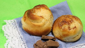 Homemade cakes of dough Stock Photo