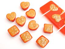 Homemade candies Royalty Free Stock Photos