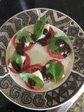Homemade Caprese Salad royalty free stock image