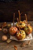 Caramel Apples stock photo