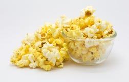 Homemade caramel popcorn Royalty Free Stock Photo