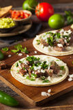 Homemade Carne Asada Street Tacos Stock Image
