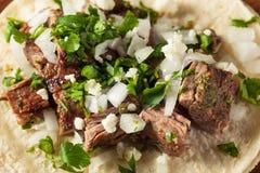 Homemade Carne Asada Street Tacos Stock Images