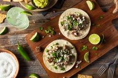 Homemade Carne Asada Street Tacos Royalty Free Stock Photos