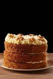 Homemade carrot cake pie Royalty Free Stock Image