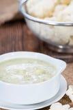 Homemade Cauliflower Soup Royalty Free Stock Image