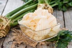 Homemade Celeriac Salad Stock Image