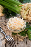 Homemade Celeriac Salad Royalty Free Stock Images