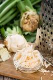 Homemade Celeriac Salad Royalty Free Stock Images