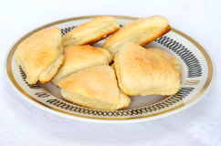 Homemade cheese biscuits Royalty Free Stock Photos