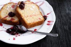 Homemade cheese cake Stock Photos