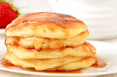 Homemade cheese pancakes Stock Image