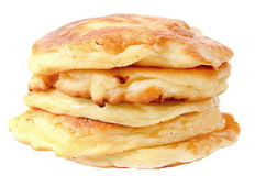Homemade cheese pancakes Royalty Free Stock Images