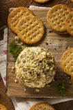Homemade Cheeseball with Nuts Royalty Free Stock Image
