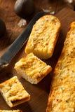 Homemade Cheesy Garlic Bread Royalty Free Stock Photos