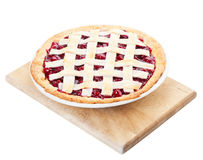 Homemade Cherry Pie Stock Image