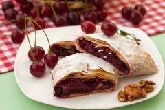Homemade cherry pie Royalty Free Stock Photos