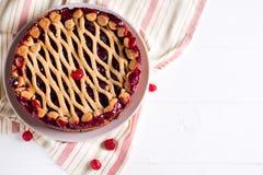 Homemade cherry pie Royalty Free Stock Photo