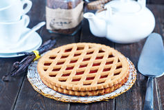 Homemade cherry pie Royalty Free Stock Photography