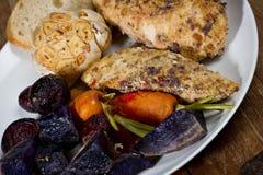 Homemade Chicken Dinner Royalty Free Stock Image