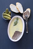 Homemade chicken liver pate Stock Image