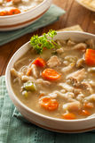 Homemade Chicken Noodle Soup Royalty Free Stock Image