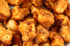 Homemade Chicken Nuggets royalty free stock photography