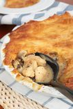 Homemade chicken pie Royalty Free Stock Photography