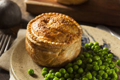 Homemade Chicken Pot Pie Royalty Free Stock Photography