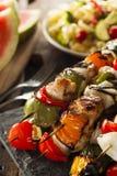 Homemade Chicken Shish Kabobs Stock Image