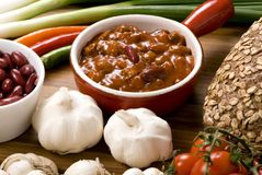 Homemade Chili 6 Royalty Free Stock Images