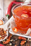 Homemade Chili Sauce Royalty Free Stock Image