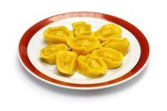 Homemade chinese gold ingot dumplings Stock Photography