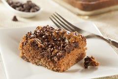 Homemade Chocolate Brownie Cake Royalty Free Stock Photos