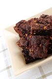 Homemade chocolate brownies Royalty Free Stock Photo