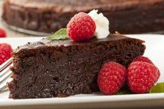 Homemade Chocolate Cake Royalty Free Stock Photography