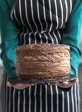 Homemade chocolate cake Stock Photo